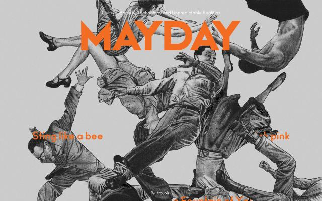 Screenshot of Maydaymag
