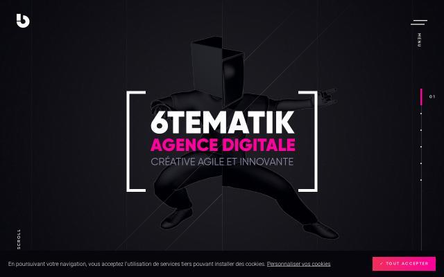 Screenshot of 6tematik