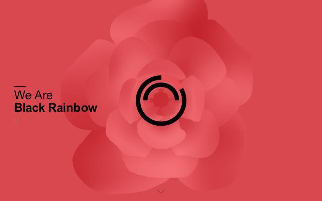 Screenshot of Blackrainbow