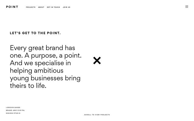 Screenshot of Point