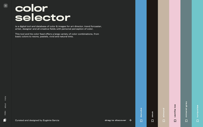 Screenshot of Color Selector