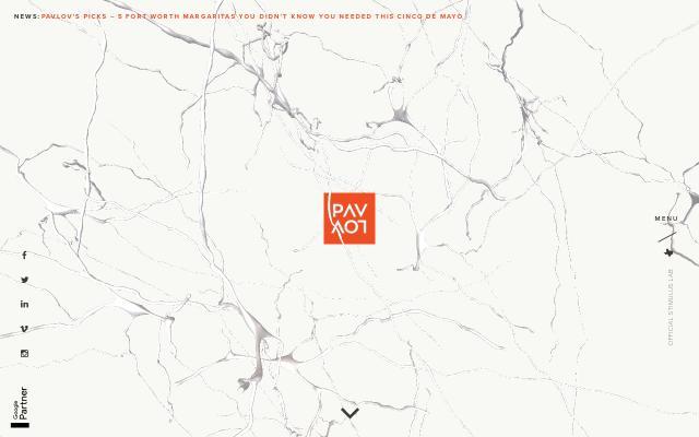 Screenshot of Pavlovagency
