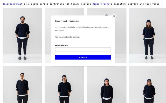 Screenshot of Simonfreund
