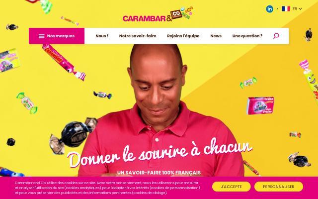 Screenshot of Carambarco