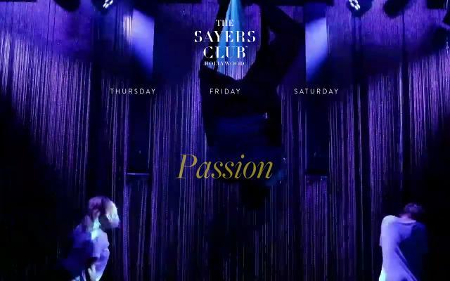 Screenshot of Sayersclub