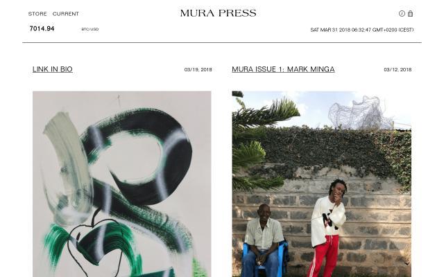 Screenshot of Mura