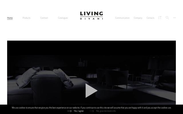 Screenshot of Livingdivani