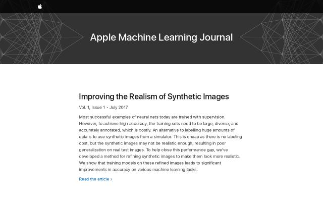 Screenshot of Machinelearning
