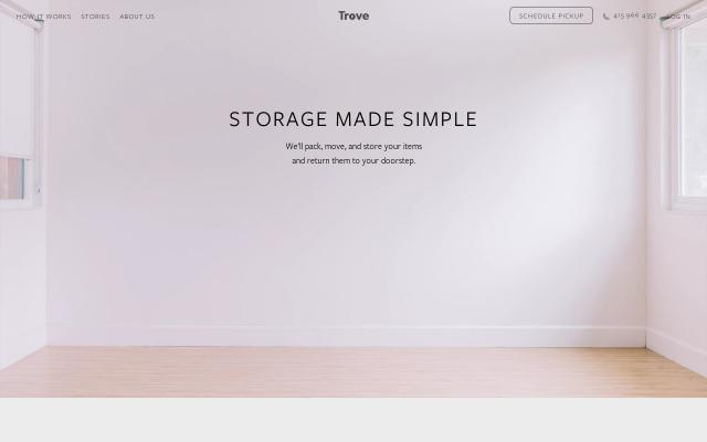 Screenshot of Mytrove