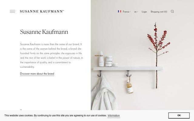 Screenshot of Susannekaufmann