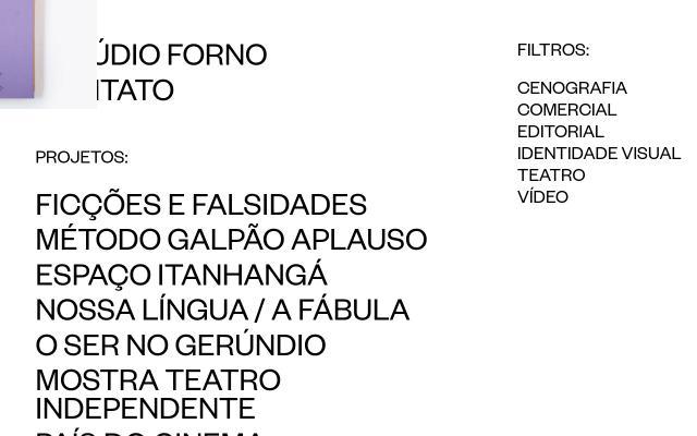 Screenshot of Noforno