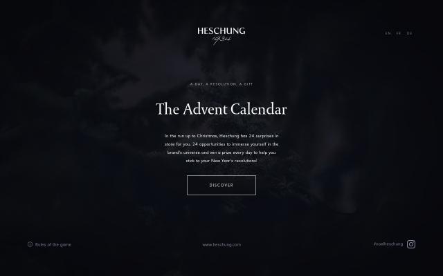 Screenshot of Heschung