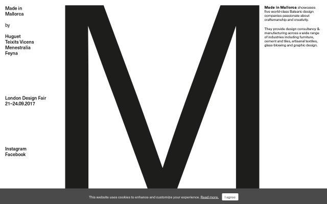 Screenshot of Madeinmallorca