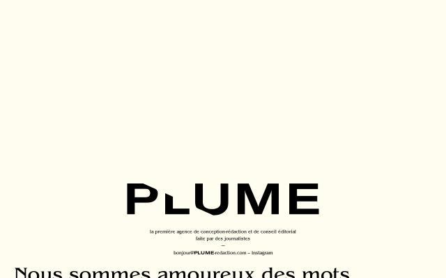Screenshot of Plume-redaction