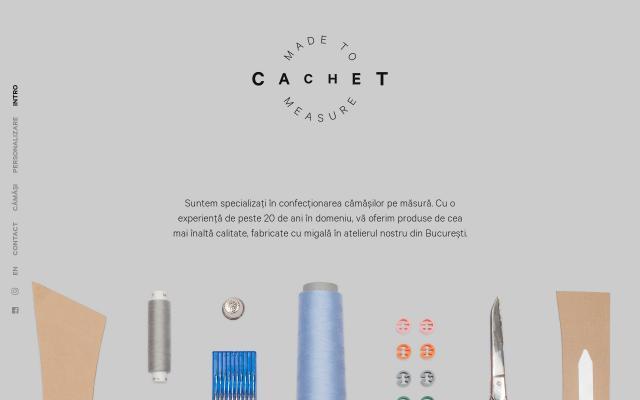 Screenshot of Cachet