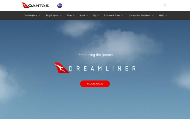 Screenshot of Dreamliner