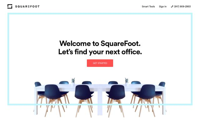 Screenshot of Squarefoot