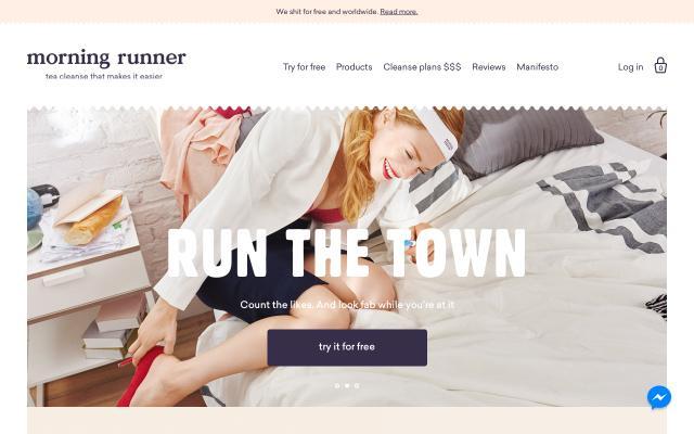 Screenshot of Morningrunner