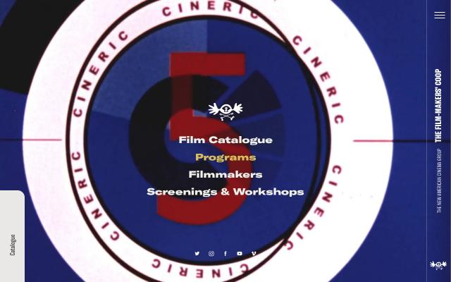 Screenshot of Film-makerscoop