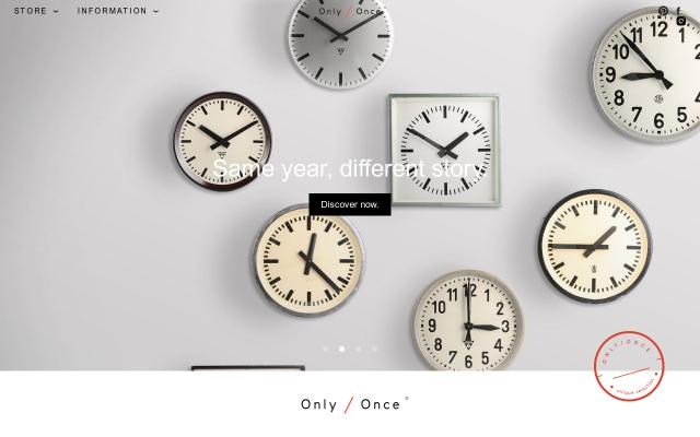 Screenshot of Onlyonceshop