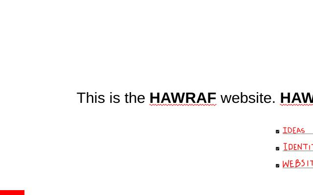 Screenshot of Hawraf