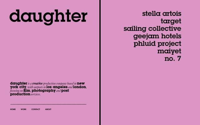 Screenshot of Daughterproductions