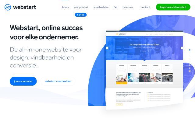 Screenshot of Webstart