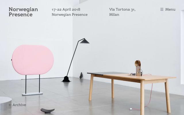 Screenshot of Norwegianpresence
