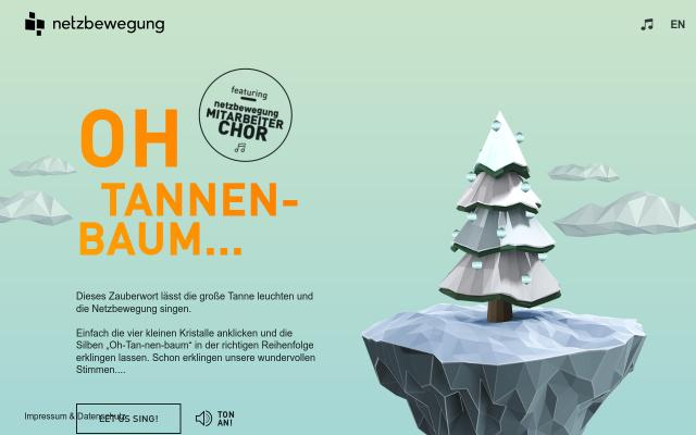 Screenshot of Netzbewegung