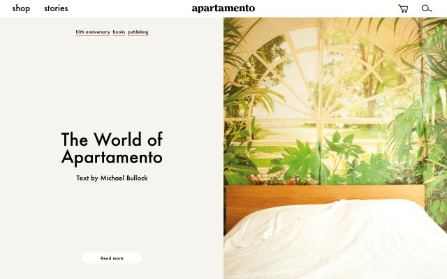 Screenshot of Apartamentomagazine
