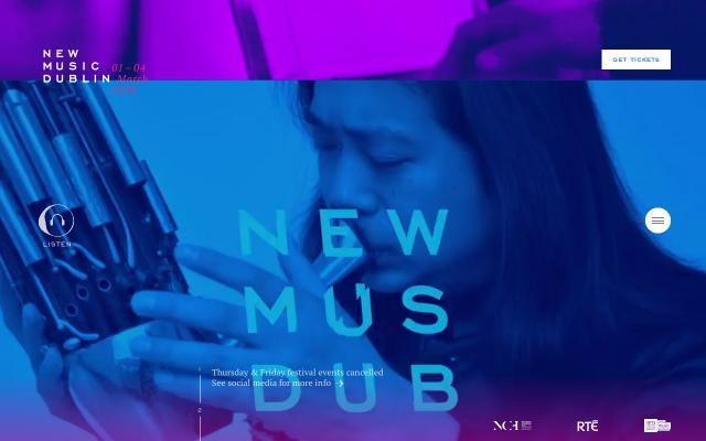 Screenshot of Newmusicdublin