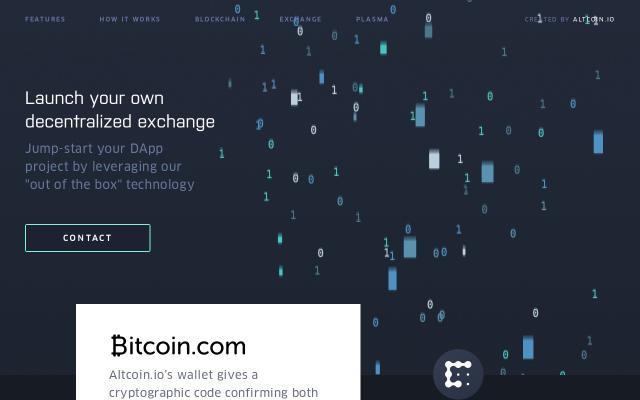 Screenshot of Altcoin