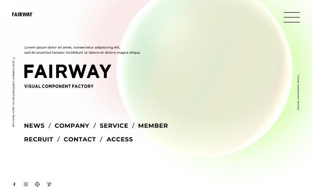 Screenshot of Fairway-corp