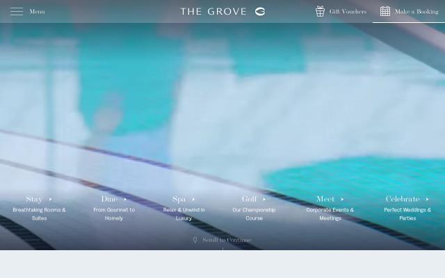 Screenshot of Thegrove