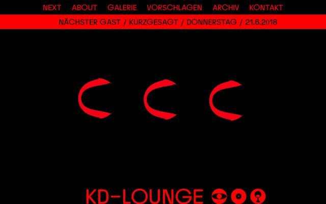 Screenshot of Kd-lounge