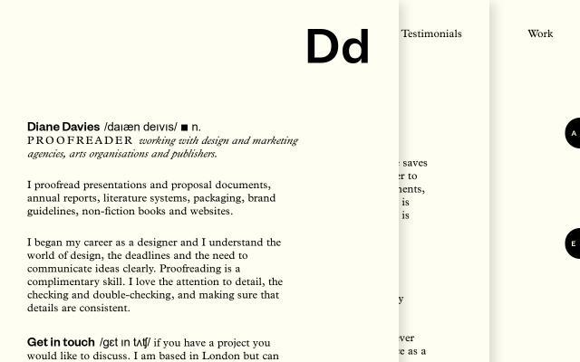 Screenshot of Dd-proofreader