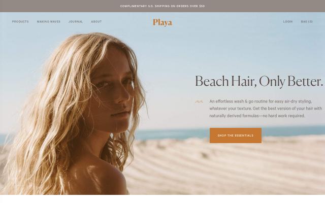 Screenshot of Playabeauty