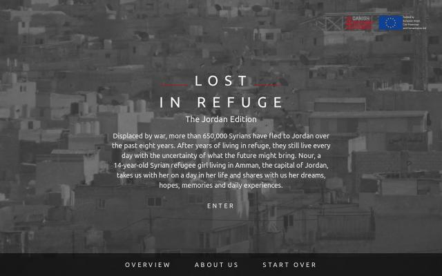 Screenshot of Lostinrefuge