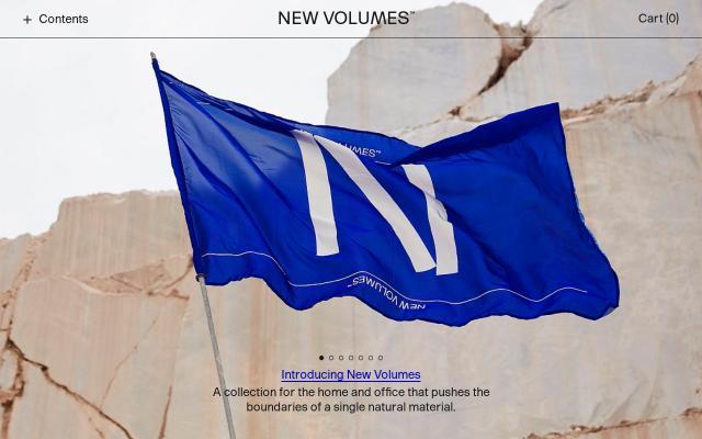 Screenshot of Newvolumes