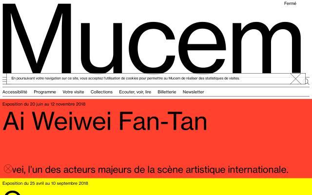 Screenshot of Mucem