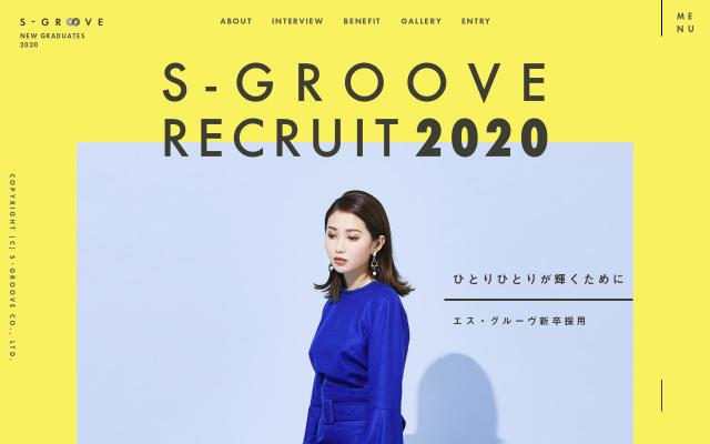 Screenshot of S-groove