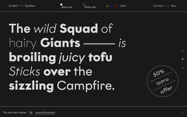 Screenshot of Graphit-type