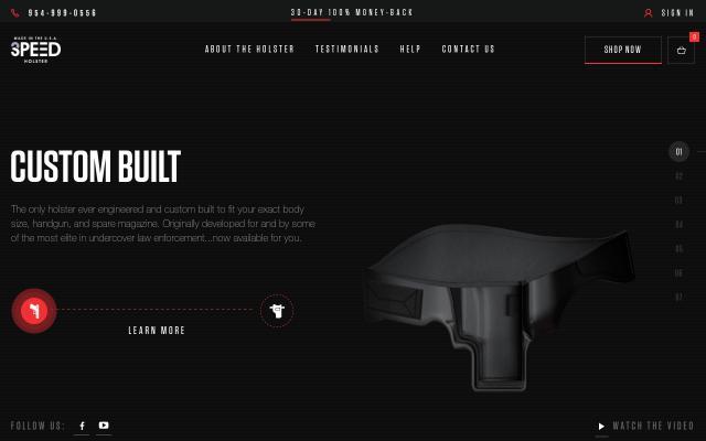 Screenshot of 3speedholster
