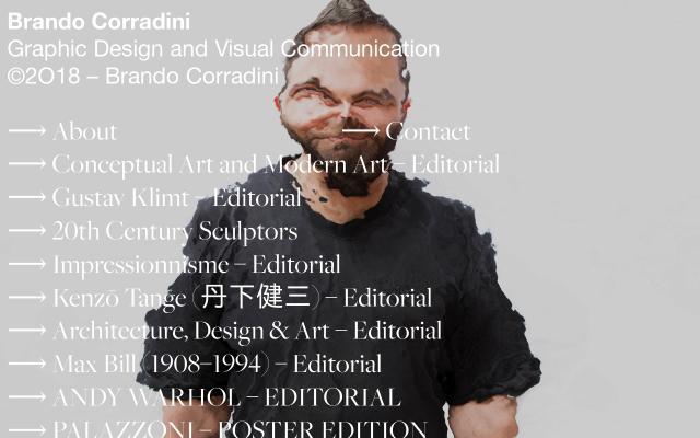 Screenshot of Brandocorradini