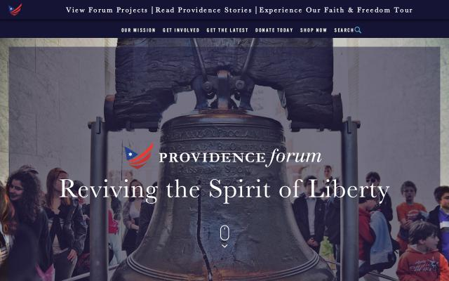 Screenshot of Providenceforum