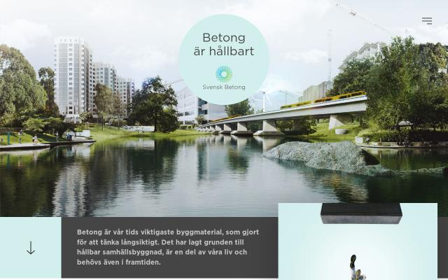 Screenshot of Betongarhallbart