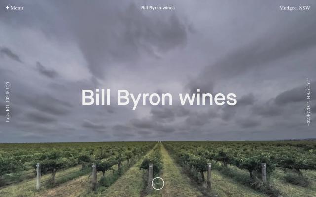 Screenshot of Billbyronwines
