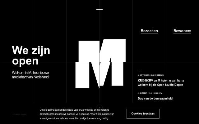 Screenshot of M-mediagebouw