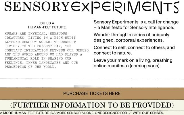 Screenshot of Sensoryexperiments