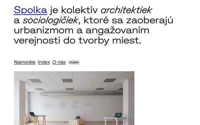 Screenshot of Spolka